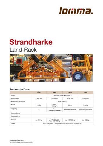 Lomma Sachsen Strandharke Technische Daten