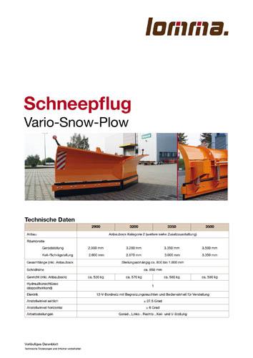 Lomma Sachsen Schneepflug Download